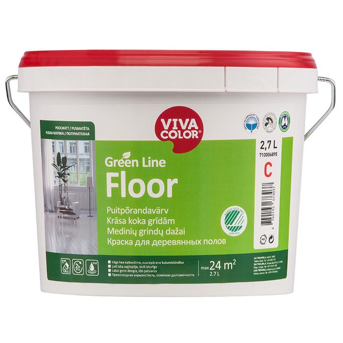VIVACOLOR GL Floor A 2.7L Semi matt floor paint
