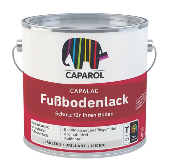 Caparol Fussbodenlack Transp. 0.6L krāsa koka grīdām