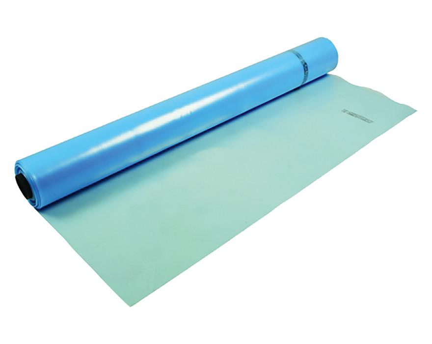 PE plēve 0.120mm gaiši zila 6x100m, 600m2 UV SILTUMNĪCAS