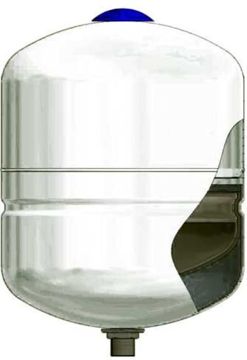 Многофункц. бак давления DP-8 (гарантия 5 лет) для санитарной воды, отопления, солнечных систем