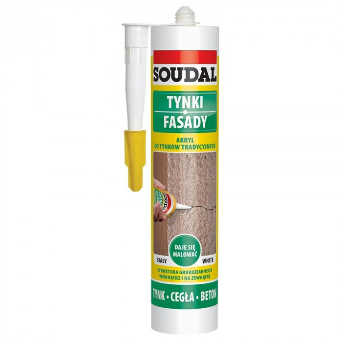 Soudal AKRYL FASSADE 310ml acrylic sealant