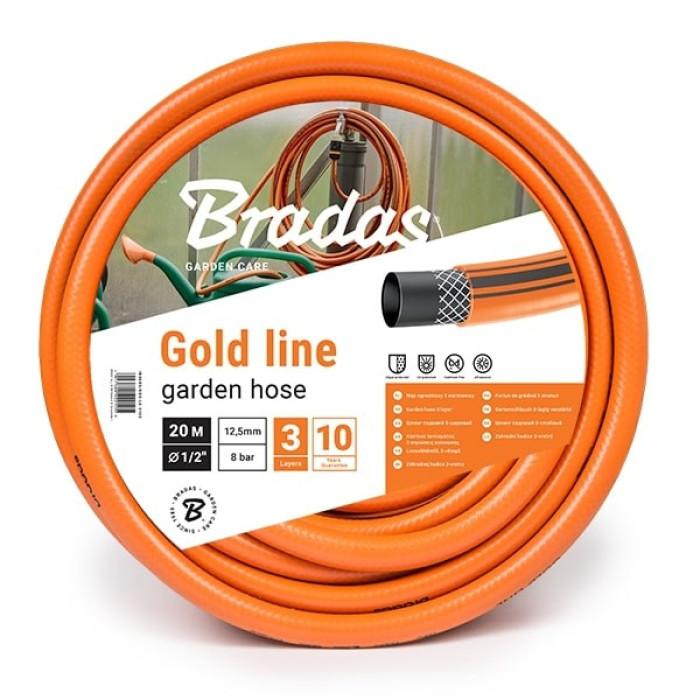 Шланг садовый GOLD LINE 3/4'-30m, оранжевый