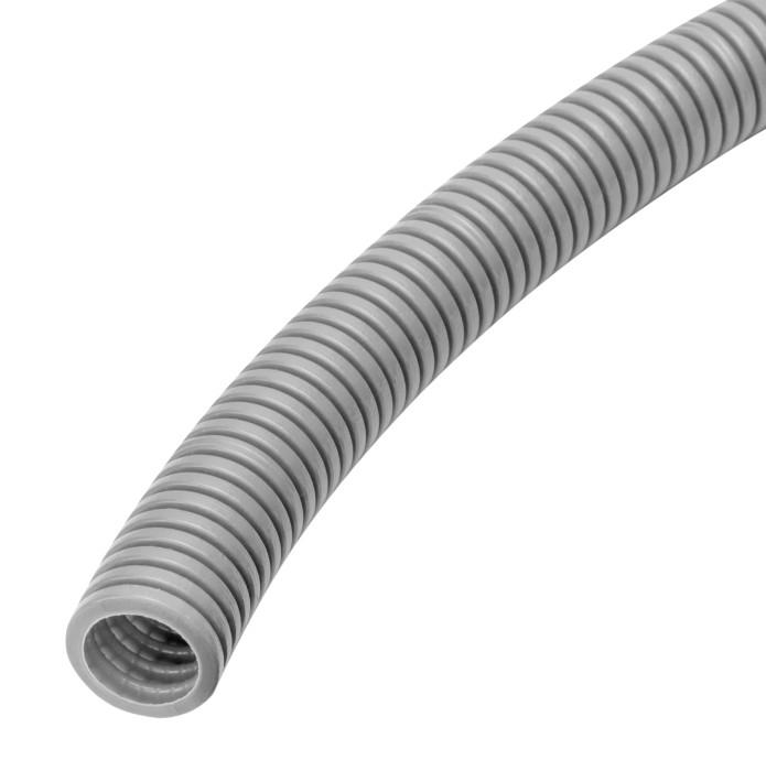 Gofrēta caurule 16/10.7mm 5m 320N pelēka
