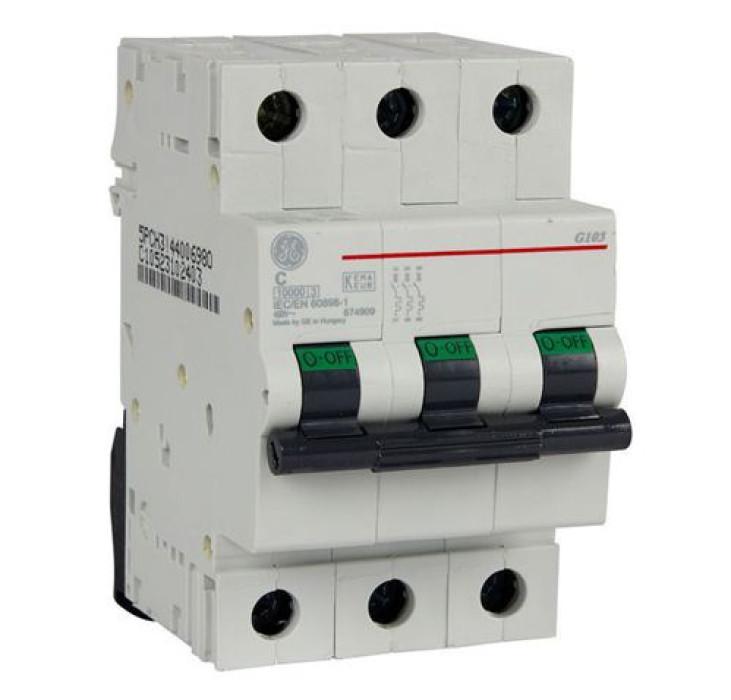 Miniature circuit breaker GE C  3P 10A G60
