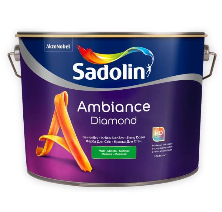 Sadolin AMBIANCE DIAMOND BC 9.3L Matt paint for Walls
