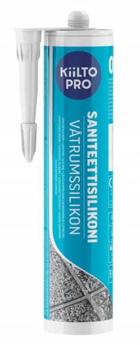 Kiilto Silicone Sealant 310ml Nr.39 Marble White