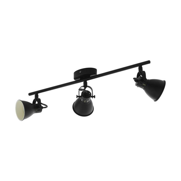 светильник EGLO Seras2 GU10 3X3.3W max3X3.3W 3X240lm черный 98399
