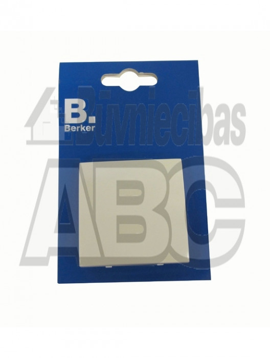 BERKER S1 white glossy change over switch