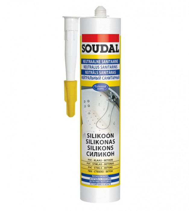 Soudal NEUTRAL SILICONE transparent 310ml
