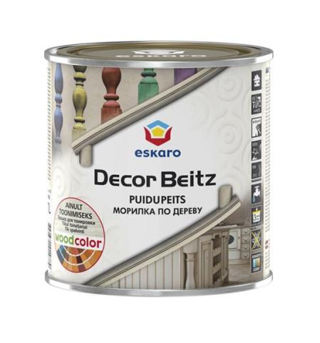 Eskaro DECOR BEITZ 0.7L Akrila  bāzes beice koksnei