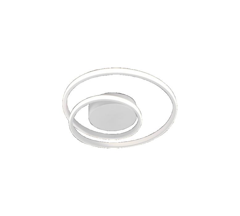 Griestu lampa TRIO Zibal LED 22W 2200Lm 3000K SD balta R62911131
