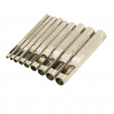 FASTER TOOLS Hollow punch set - 9pcs 2,5 - 10mm
