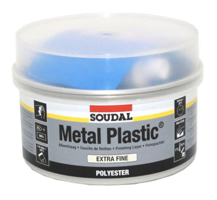 Soudal METAL PLASTIC extra fine 1kg