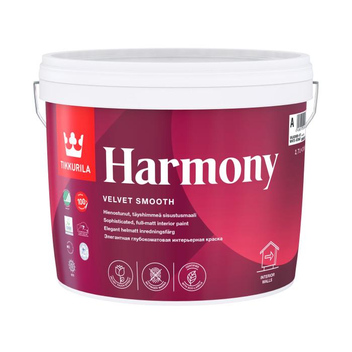 Tikkurila HARMONY A 2.7L acrylate latex paint