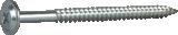 Montāžas skrūve 4.5x65mm FZB 200gab/iep., ESSVE 572165