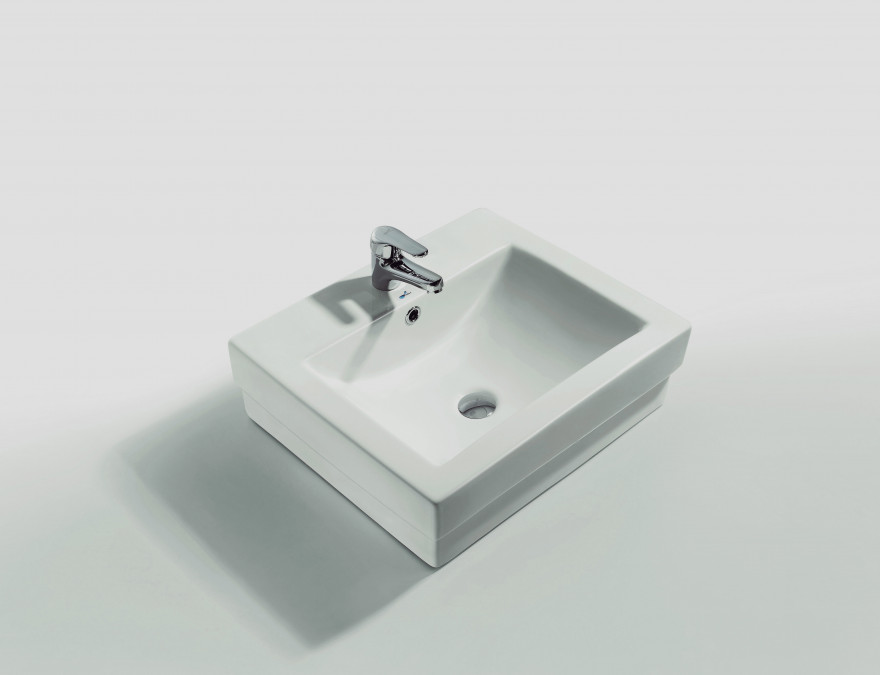 Washbasin on surface MY-3026 55x55x16cm Defa
