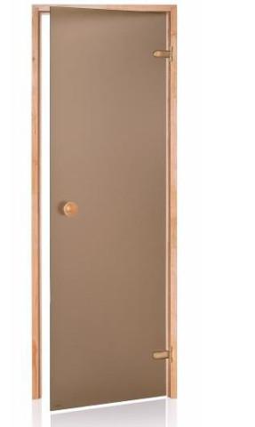 Durvis ANDRES saunai matētas  690x1890mm,bronza