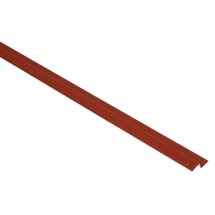 MC TEMPSI pilienu līste 1.25m sarkana metāla 34R