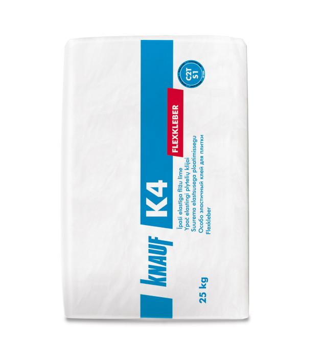 Knauf K4 īpaši elastīga flīžu  līme 25kg
