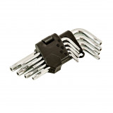FASTER TOOLS Torx key wrench set - 9pcs T10 - T50