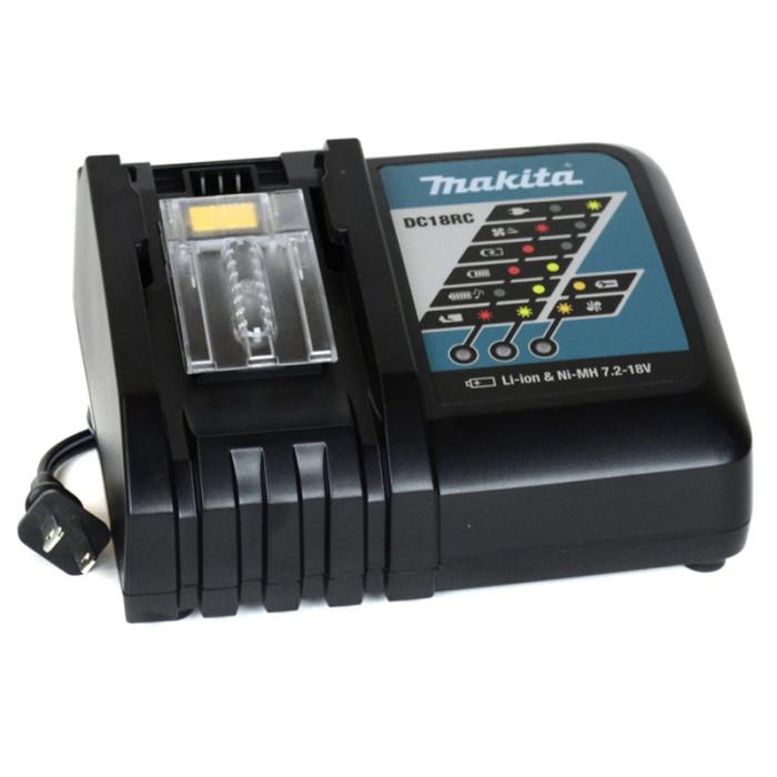 Akumulatora uzlādes ierīce DC18RC 7.2-18V Li-Ion