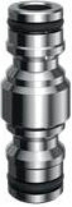 CLABER Two-line connector, chrome 449606
