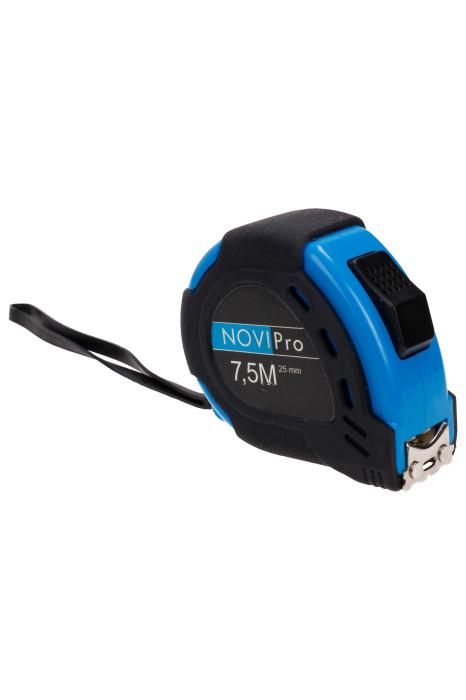 Measuring-tape with magnet 7.5mx25mm Novipro