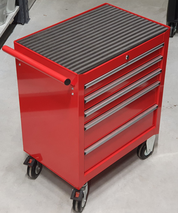 Work table for tools 750x540x890, red, A039593