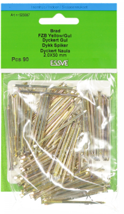Essve Nails with Countersunk Head 2.0x50 90pcs. 523087