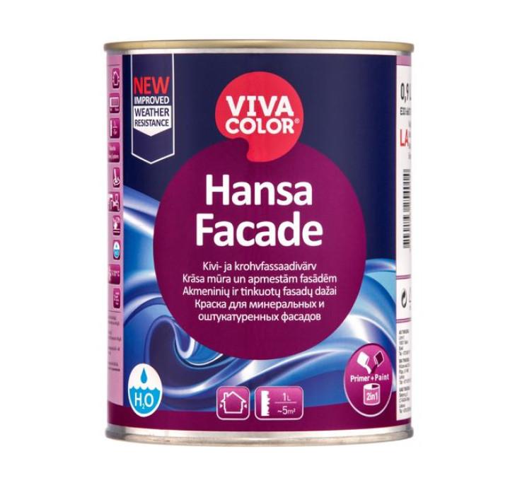 Vivacolor HANSA FACADE LC 0.9l Stone and plaster facade paint