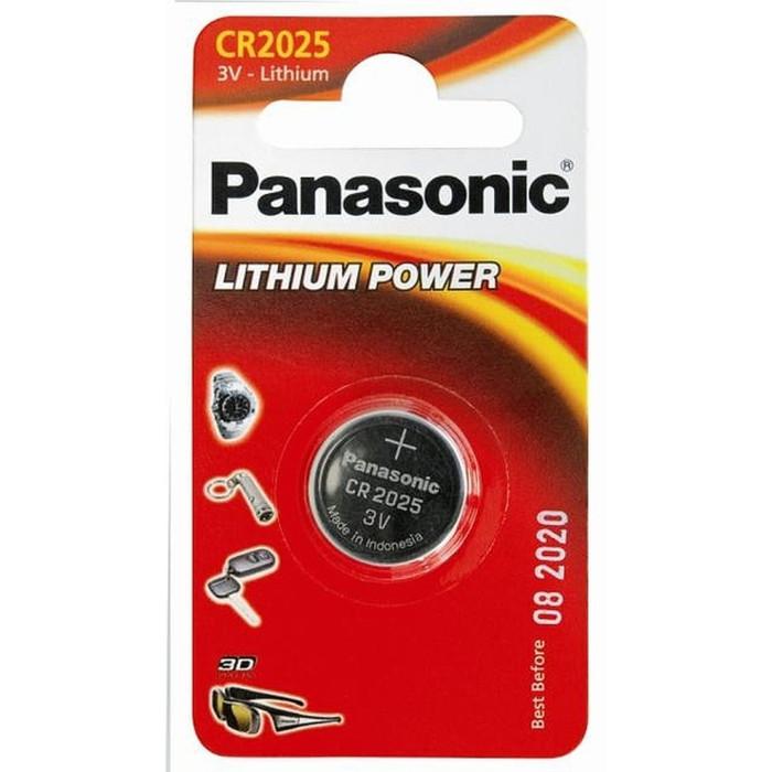 BATERIJA PANASONIC CR2025 lītija 3V 1gb/iep 280-205,5003LC,BR2025,DL2025,ECR2025,SB-T14