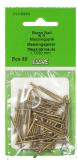 Essve Brass Nails KH 1.7x30 50pcs. 522306