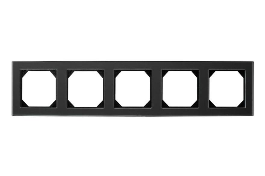 LIREGUS EPSILON frame  black glass 5-way