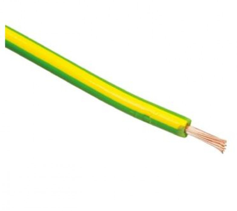 ELECTRIC CABLE single core   2.5 DZ/green H07V-K