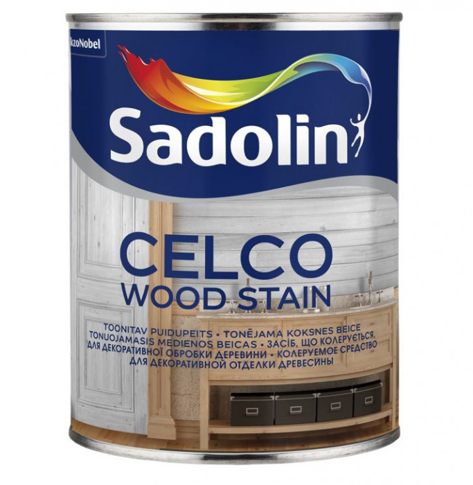 Sadolin CELCO WOOD STAIN 1L