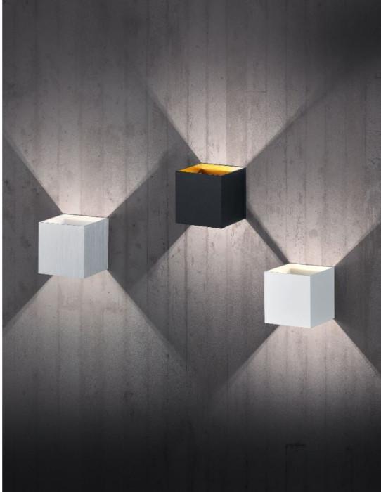 TRIO Sienas lampa LOUIS  LED SMD 4.3W 430lm alum.