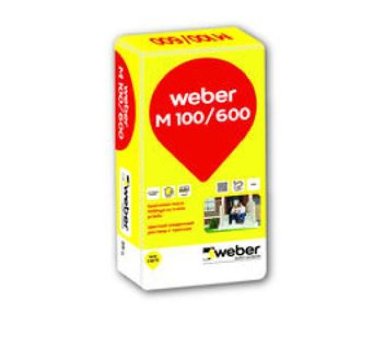 weber.M100/600 25kg