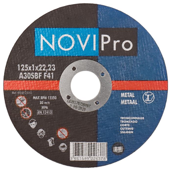 Griezējdisks metāla 125X1.0 PL  Novipro