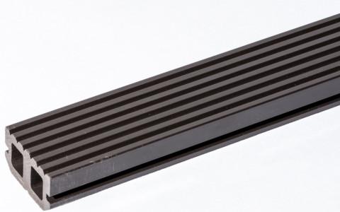 WPC Balsta lāga 28x50x3000mm  brūna kompozītm.pamatne