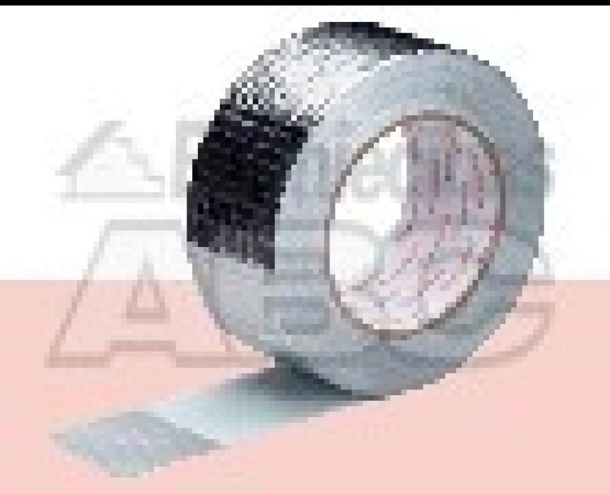 Reinforced aluminium tape 50mm x 45m