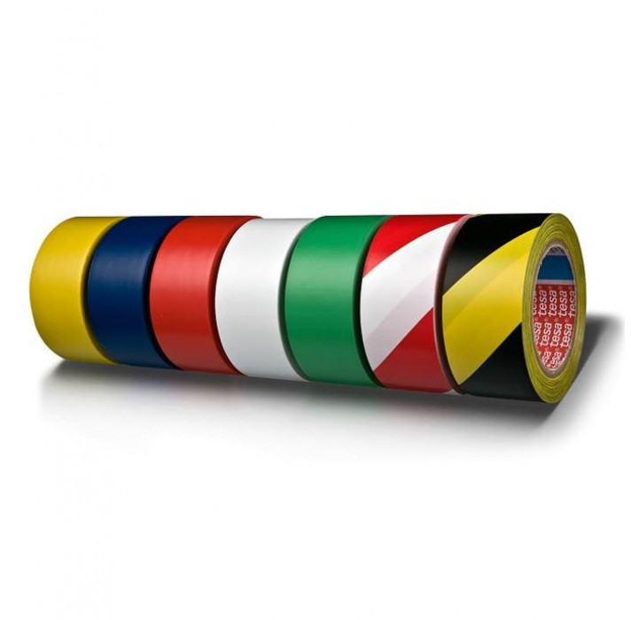 tesa 60760 Floor Marking Tape 33mx50mm Yellow