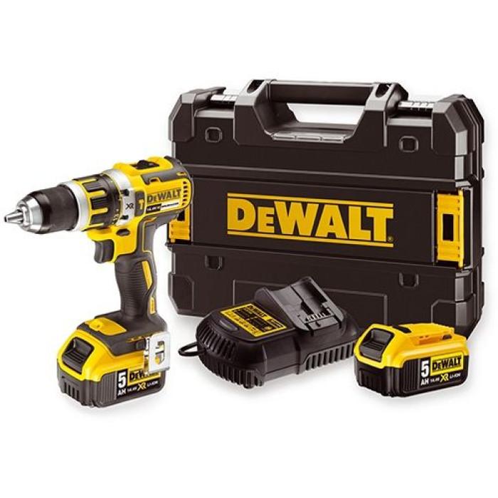 DeWalt DCD737P2 14.4V 5.0Ah Li-ion cordless combi drill