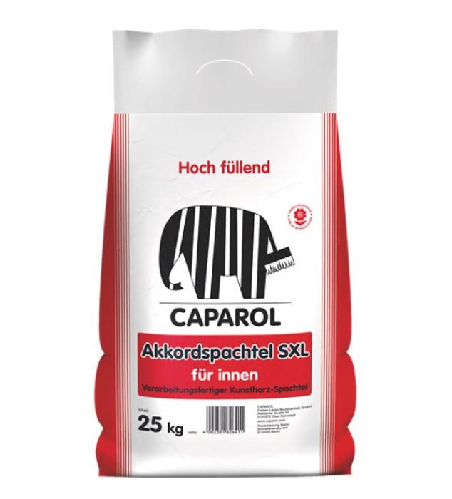 Caparol AKKORD Spachtel SXL 25kg Good filling, paste-like synthetic-resin dispersion filler