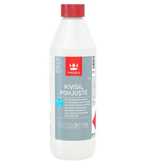Tikkurila KIVISIL POHJUSTE 1L Ūdens bāzes silikona grunts (koncentrāts)