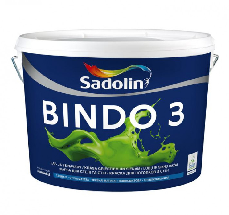 PAINT BINDO 3 BW 10 L