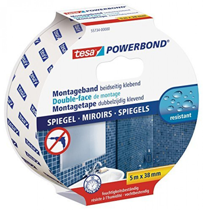 tesa 55734 powerbond-mirror 5mx38mm