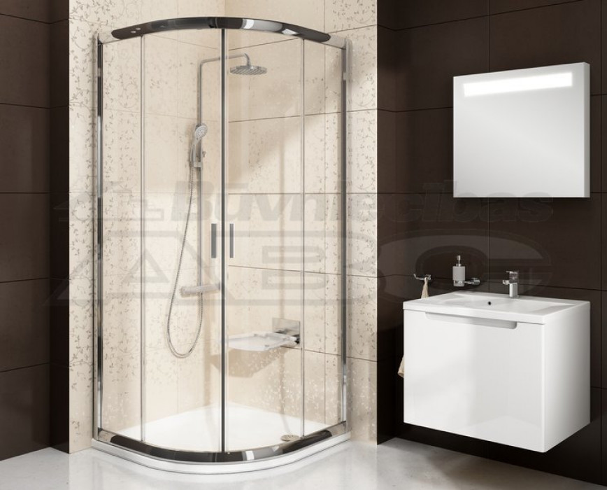 Ravak Dušas kabīne BLCP4-90  Alum/Transparent