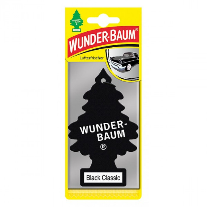 Wunder-Baum Air Freshener Black Classic