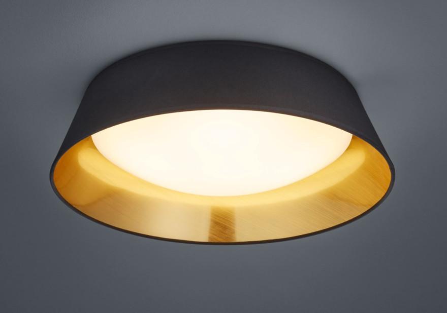REALITY Griestu lampa PONTS LED 18W 1700lm melns