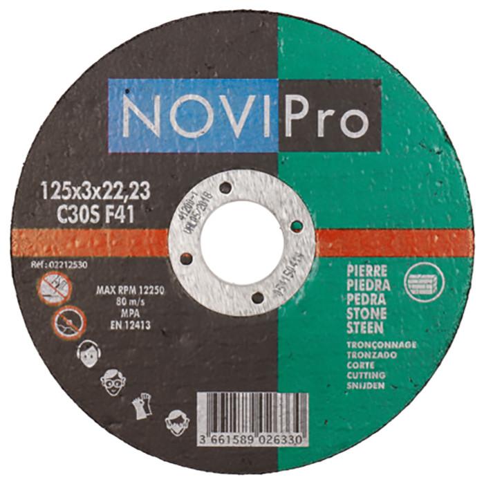 Griezējdisks akm 125X3.0 Novipro